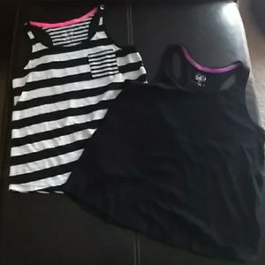 2 tanks girls size 14 justice